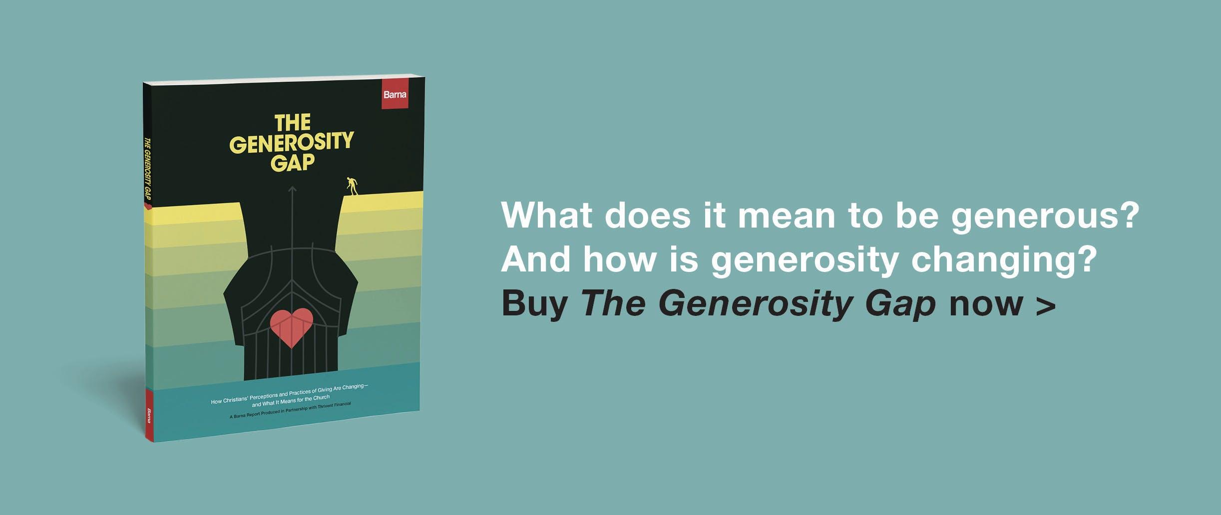 Generosity Gap